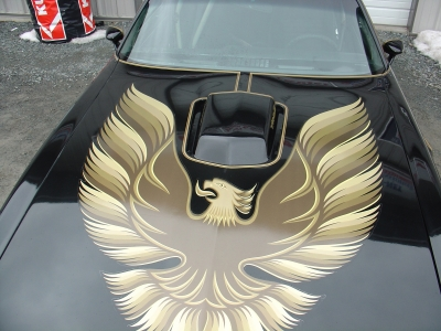 Dans Smokey and the Bandit ride