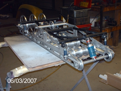 pics of FJ's sled upgrade project