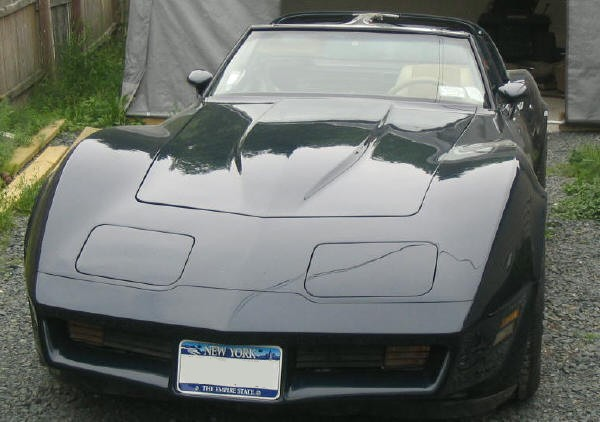 pics of Bill Hans's Show quality Vette
