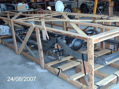 pics of F&R's 57 reframe and finish off project