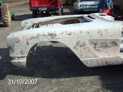 pics of Bill's 1959 Vette Vert Resto Rod Supercar