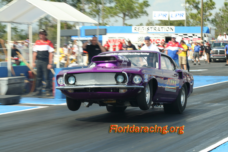 Florida Drag Racing Scenes
